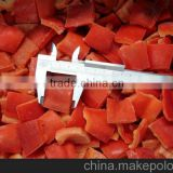 IQF FROZEN RED SWEET PEPPER SLICES,DICES ,BOWLS