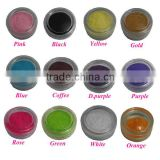 Newest and Special nail polish Flock powder nylon for velvet