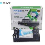 FTA Freesat V7 Max Satellite TV Receiver DVB-S2 CCcam Powervu Biss Digital TV Decoder V7 Max for Philippines Mexico Malaysia