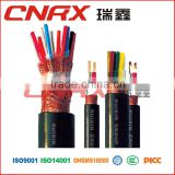 Made in China ruixing group electronics high voltage cable copper core PVC jacket pvc insulated electrical cable wire