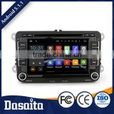 Cheap 8 Inch Auto Memory Black colored car gps android dvd player for VW GOLF MK6