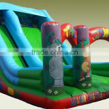 China cheap animal inflatable water slide,children park inflatable slide water slide for kids and adults for sale