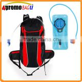 2016 Custom hydration backpack cycling bag with water bladder