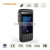 Android rugged data collector handheld portable bluetooth thermal printer with hf rfid reader