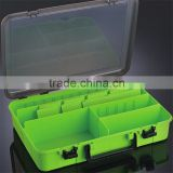 Eco-Friendly plastic hard plastic fishing tackle boxes for lure
