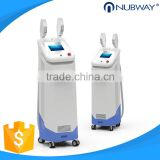 Intense Pulsed Flash Lamp Update Designed Shr+ipl Beauty 10MHz Machine Silk Light Ipl 640-1200nm