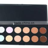 Anastasi 12colours foundation palette,Cottect for makeup,Professional Pressed Powder for face
