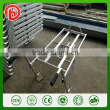 one wheel Aluminum alloy tool cart platform wheelbarrow hand truck hand trolley