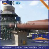High-tech coal natural gas based energy saving dri rotary kiln