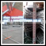 hot dipped galvanized chain link fencing / por inmersion en caliente cerca de alambre galvanizado