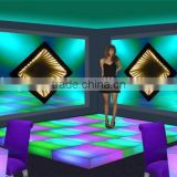 Led light up furniture fashionable show floor, disco dance led luminous floor