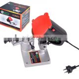 2015 New 230V 85W Electric Chainsaw Chain Sharpener Mini Chain Grinder Sharpening Machine with Aluminum Base JS-2007