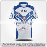 team set custom rugby jersey,long sleeve/sleeveless sublimated rugby jersey with embroidery