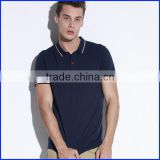 China Factory Free Sample High Quality New Design Plain Blank Uniform Soft Dry Fit Custom Mens Polo Shirt