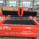 CE supply factory price 1530 cnc industrial plasma cutting machine USA Power Source Plasma Cutting Machine