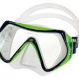 Tempered Glass Silicone Skirt&strap Swimming Mask