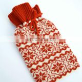 fashional pretty elegant lovely super warm soft cozy knit water bottle