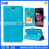 Crazy Horse Wallet Style Magnetic Flip Stand TPU+ PU Leather Case for Nokia Lumia 930