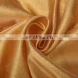 shiny clothes fabric mettalic organza for Dubai market