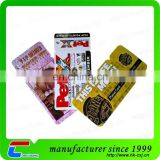Plastic Die Cut Combo Card Key Tag With CMYK Printing