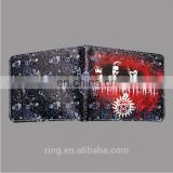 Hot Movie Supernatural Purse folded Wallets Casual Leather