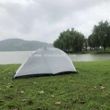 1 person tent 1.4kg one man ultralight hiking equipment waterproof SNZP015 single people double layers tents outdoor camping