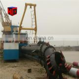 Qingzhou Haida hydraulic dredger river sand digging machine/cutter suction dredger for sale