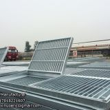Stainless 304 steel grate smooth surface grating