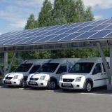 Solar Panel Carport Dustproof  With Aluminum Frame