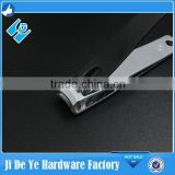 sharp but safe nailclippers, black color rubber surface nail clippers, nail cutters for finger or toe with special package
