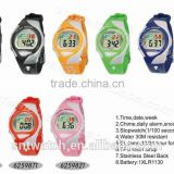 SNT-LR625 hot sale stylish digital watch with PU band
