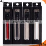 Cheap & cost item! e vapor cigarette 510 thread buttonless micro USB charger auto vapor batteries