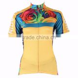 Bicycle Wear Girls Short Sleeve Cycling Jerseys Biking Cycle Clothing