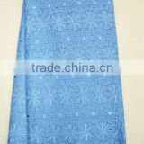 swiss voile lace fabric for man J274-4