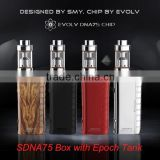 LeZT Hcigar 75W DNA Chipset VT75 box mod, VT 133w box mod wholesale