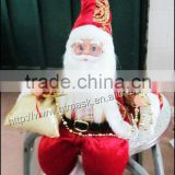 custom High R3 X'mas Hanging,Christmas Ornament & Decoration for Christmas Tree sitting posture Santa Claus take a gift bagDecor