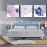 HD canvas art butterfly oil painting for bedroom B-414