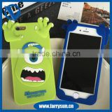 whosale Silicone funny mobile phone case for cheap 3D mobile phone case animal carton phone case