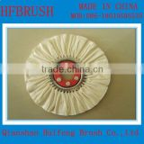 100% white cotton buffing wheel