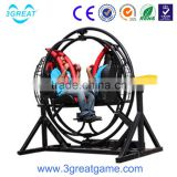 Hot high quality electric human gyroscope rides for sale