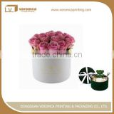 Veromca printing square hat flower boutique packaging boxes