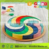 2015 China Factory New Developing Toy Puzzle Kids Lovely Wooden Block Puzzle Wholesale                                                                         Quality Choice