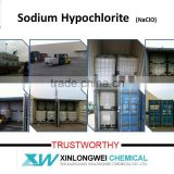 liquid sodium hypochlorite 5% to 13%
