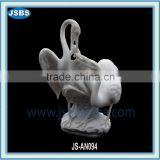 White Swan Sculpture JS-AN094