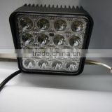 "Cheap price 4.5"" square off road led work light offroad led lighting, 48w led work light"
