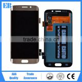 Wholesale 100% Warranty Original LCD For Samsung Galaxy S7 Edge LCD Display + Digitizer Touch Screen Gold                                                                         Quality Choice