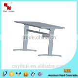 cast aluminum table base black cast iron table base folding table base