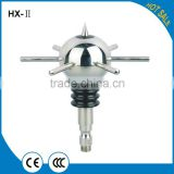 lightning protection for buildings,lightning rod parts,Stainless steel spherical lightning rod
