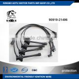High voltage silicone Ignition wire set, ignition cable kit, spark plug wire 90919-21496 for TOYOTA