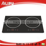 Built-in Electric Double Induction Hob Glass Cooktop Cooker Freestanding Touch 3600W (SM20-DIC06)